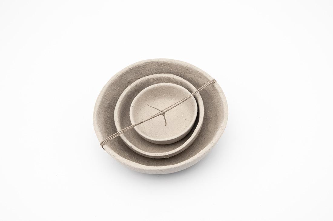 ciotole ceramica naturale fatto a mano