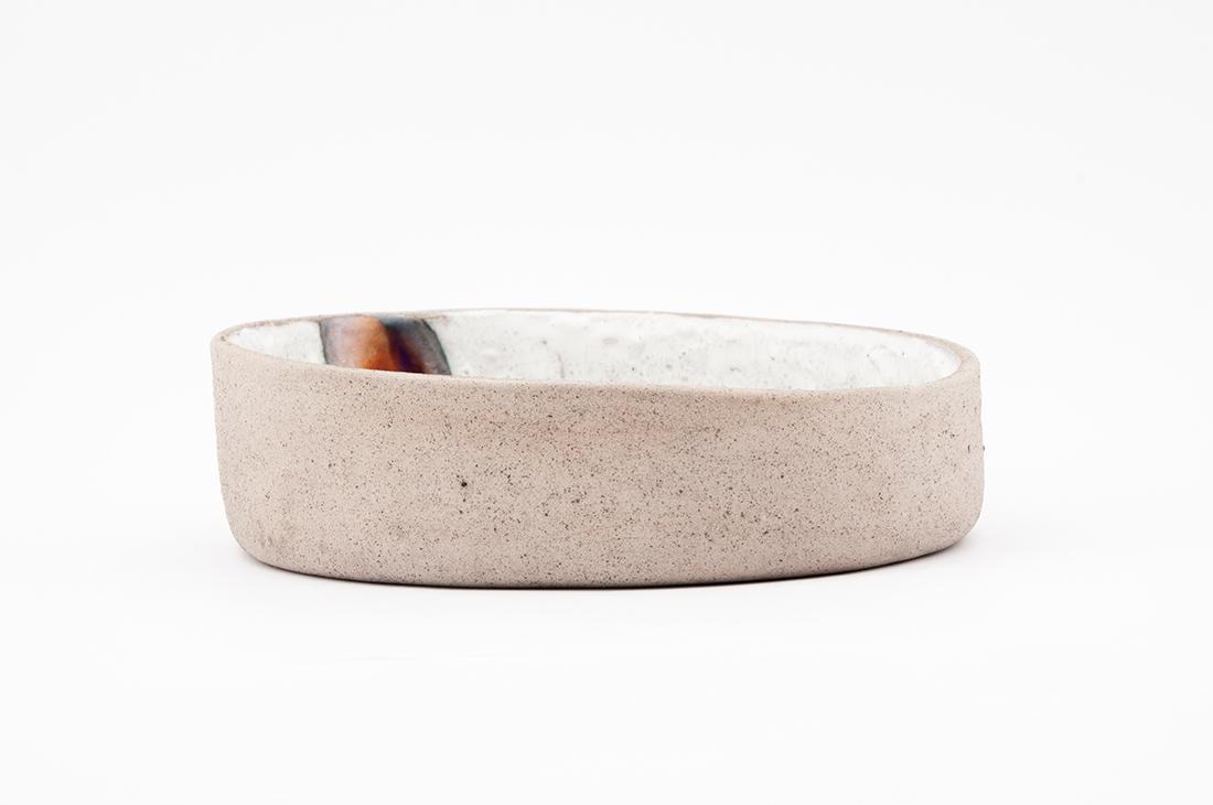 ceramica lavorazione metallica